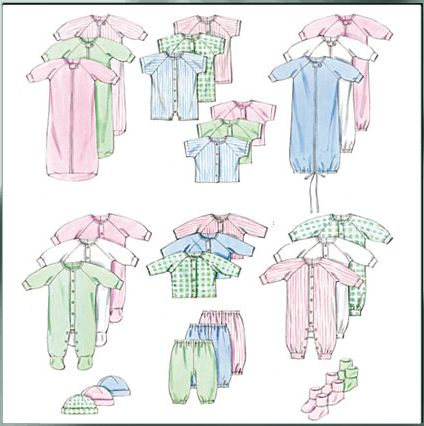 New Conceptions - Baby Clothes Patterns, Cloth Diaper